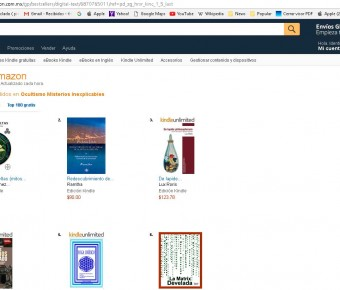 Mi best seller en Amazon
