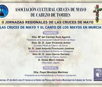 SEGUNDAS JORNADAS REGIONALES DE LAS CRUCES DE MAYO EN CABEZO DE TORRES
