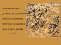 """""""HOMBRES DE ARENA"""""""