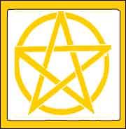 Pentagrama cinco puntas celta