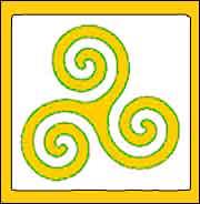 simbolo celta triskel