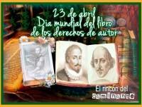 El 23 de abril es el Día Mundial del Libro y del Derecho de Autor