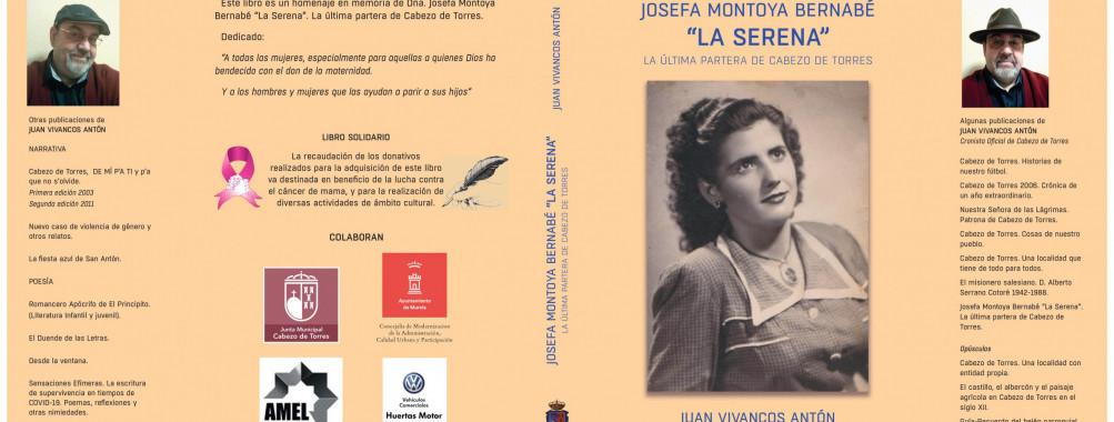 PORTADA DEL NUEVO LIBRO DEL CRONISTA OFICIAL DE CABEZO DE TORRES